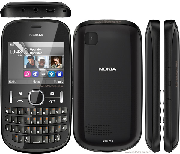 Nokia Asha 200 : Features & Specification