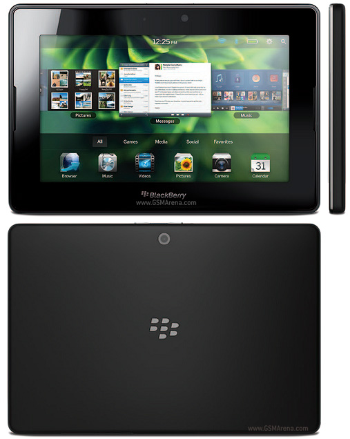 BlackBerry 4G PlayBook HSPA+ Tablet Touch 5PM wi-fi Images/Pictures