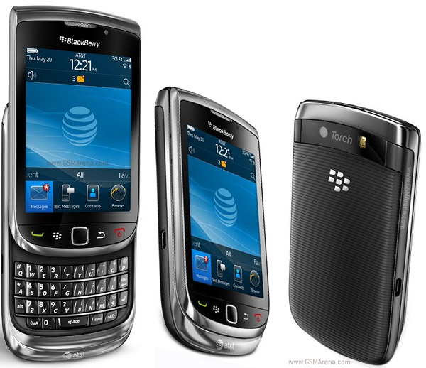 BlackBerry Torch 9800 SmartPhone 2MP wi-fi Images/Pictures