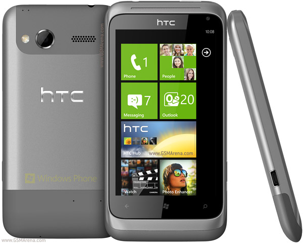 HTC Radar images and specs full, Windows Phone 7.5 Mango smartphone GSM is HTC Radar