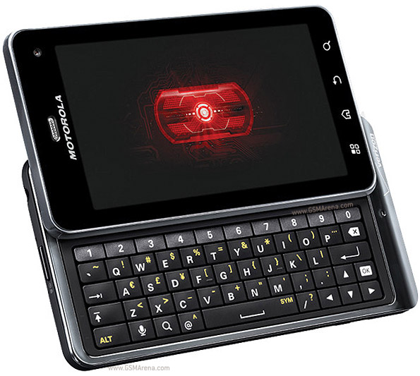 motorola android qwerty