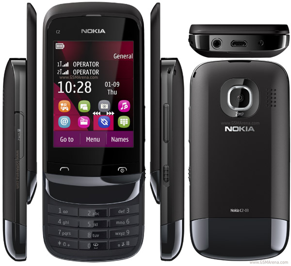 Nokia C2 03 reviews and specifications