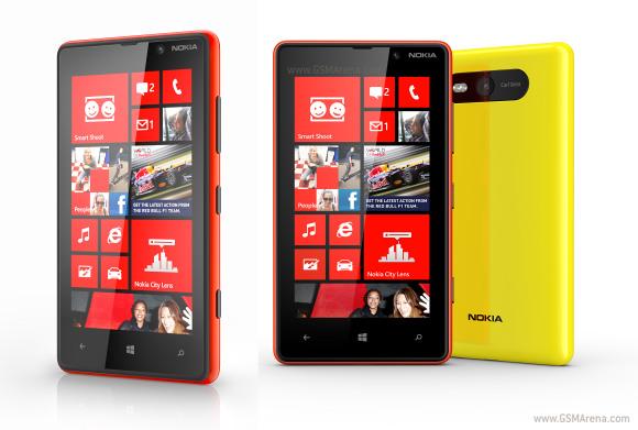 گوشی Nokia Lumia 820