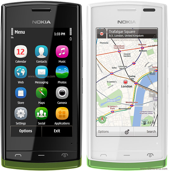 Nokia 500 wi-fi 5MP Symbian SmartPhone Pictures/Images