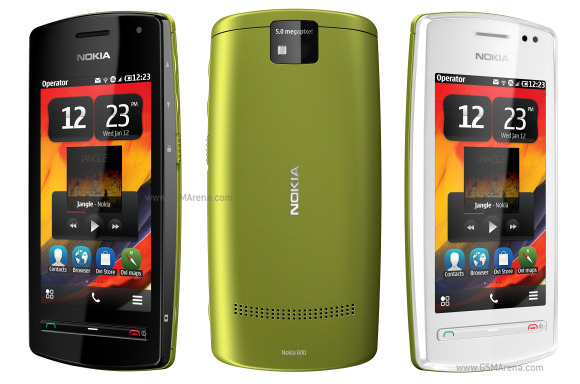 harga Nokia 600 baru bekas, fitur spesifikasi ponsel handphone Nokia 600 Symbian belle terbaru, kelemahan kekurangan dan kelebihan desain Nokia 600, hp 3G/HSDPA WiFi NFC