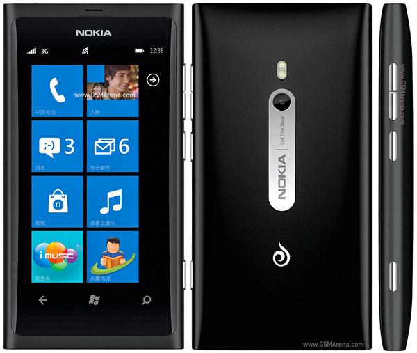 Nokia 800c Windows Mobile SmartPhone Pictures/Images