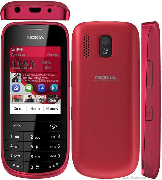Nokia Asha 203 Phone Pictures/Images