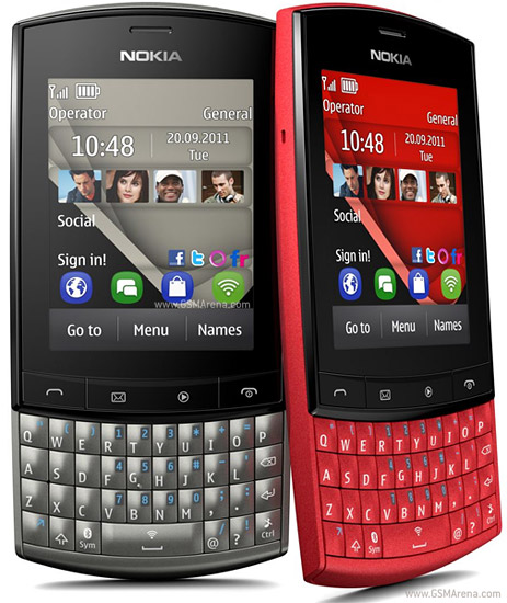 Nokia Asha 303 wi-fi Mobile Pictures/Images