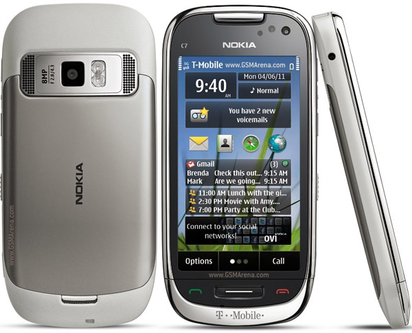 Nokia C7 Astound wi-fi 8MP Symbian SmartPhone Pictures/Images