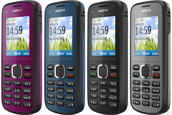 Nokia 101 vs Nokia C1-02, which one is good? Cost Rs.1050 to Rs.1500
