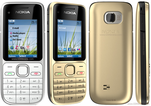 Nokia C2-01 3.15MP Mobile Phone Pictures/Images