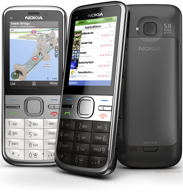 Nokia C5 5MP Symbian SmartPhone Pictures/Images