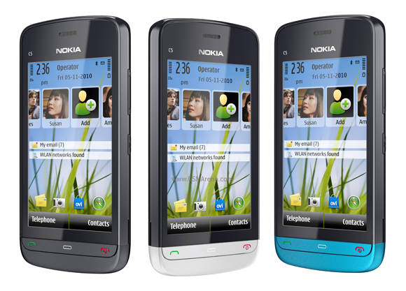 Nokia C5-03 wi-fi 5MP Symbian SmartPhone Pictures/Images