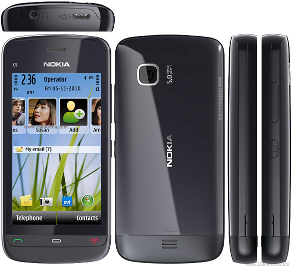 Nokia C5-04 Symbian SmartPhone Pictures/Images