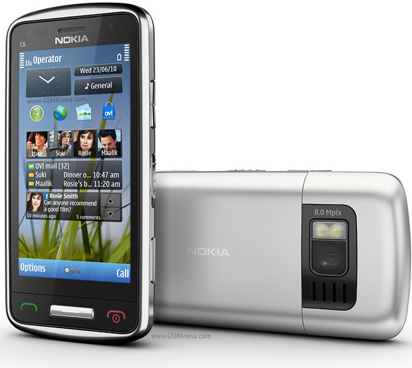 Nokia C6-01 wi-fi 8MP Symbian SmartPhone Pictures/Images