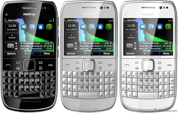 Nokia E6 wi-fi 8MP Symbian SmartPhone Pictures/Images