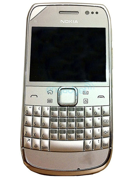 Leaked E6-00 a non-touch Symbian^3? Yes, I believe so
