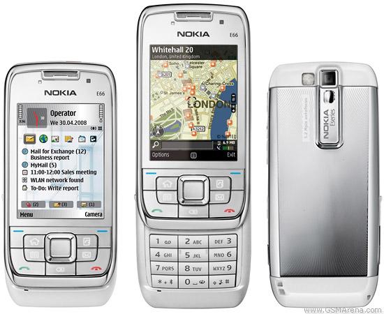 Nokia E66 pictures