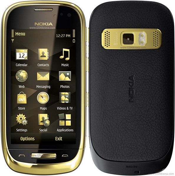 Nokia Oro wi-fi 8MP Symbian SmartPhone Pictures/Images