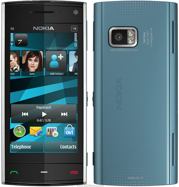 Nokia X6 8GB wi-fi 5MP Symbian SmartPhone Pictures/Images
