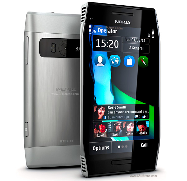 Nokia X7-00 wi-fi 8MP Symbian SmartPhone Pictures/Images