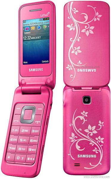 gambar Samsung C3520 La Fleur warna pink, harga dan spesifikasi ...