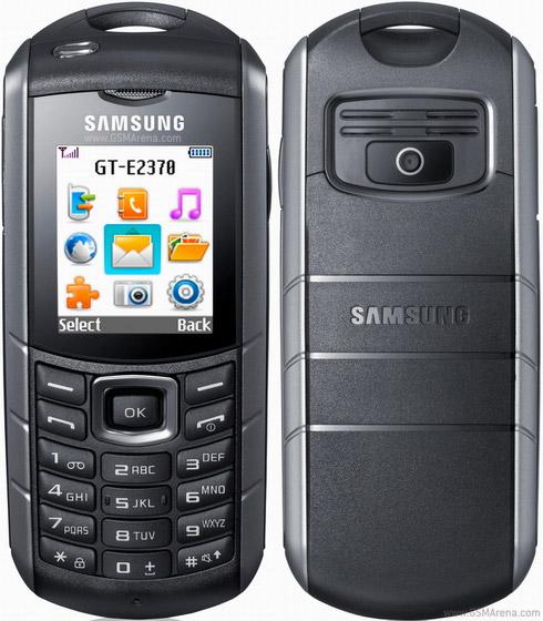 Samsung E2370 Xcover Photos - Samsung E2370 Xcover Photos