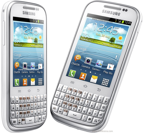 Samsung Galaxy Chat B5330 2MP wi-fi Android SmartPhone Pictures/Images