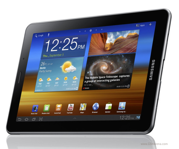 Android Honeycomb Samsung Galaxy Tab 7.7 baru bekas, fitur spesifikasi