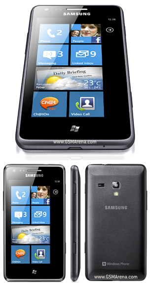 Samsung Omnia M S7530 Windows Mobile SmartPhone 5MP wi-fi Pictures/Images