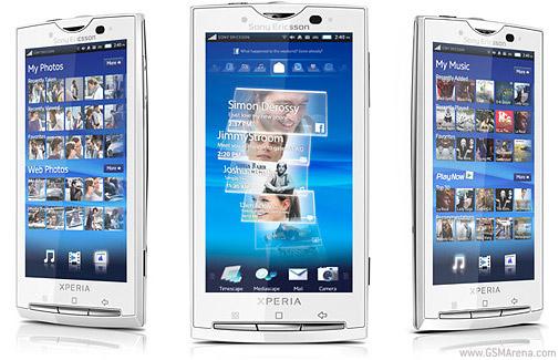 Фотографии Продам Sony Ericsson xperia x10 белый.