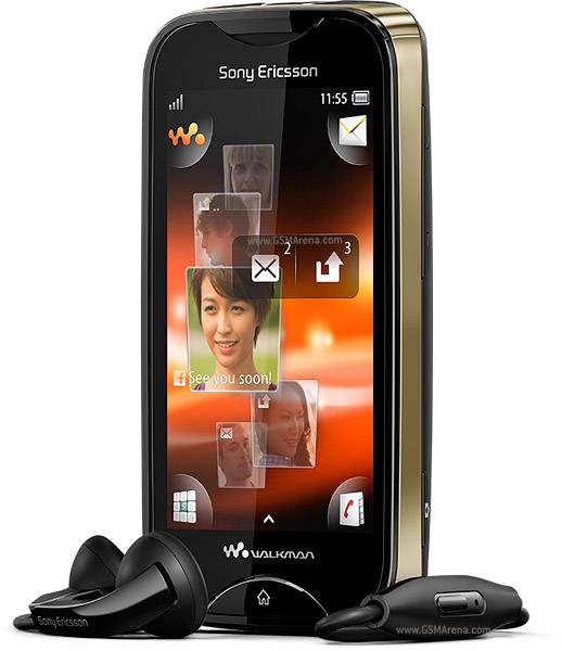 Sony Ericsson Mix Walkman TouchScreen Mobile Phone 3.2MP wi-fi Images/Pictures