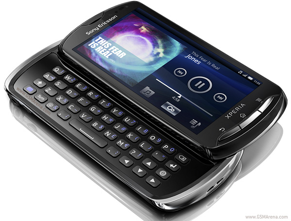 Sony Ericsson Xperia pro Android SmartPhone 8 MP wi-fi Images/Pictures