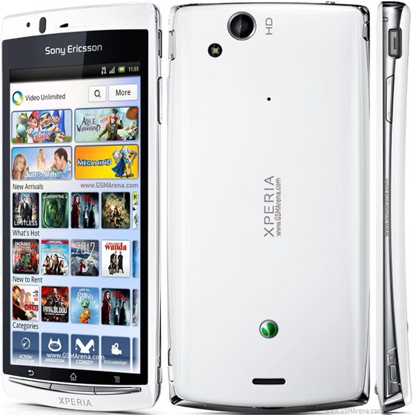 Sony Ericsson Xperia Arc S Android SmartPhone 8MP wi-fi Images/Pictures