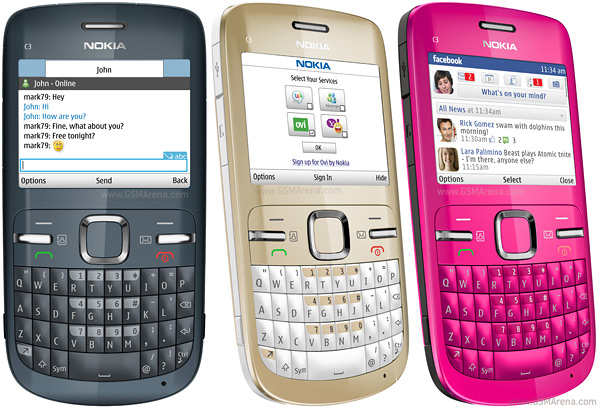 Nokia C3: Mobile Review, Specs and Price