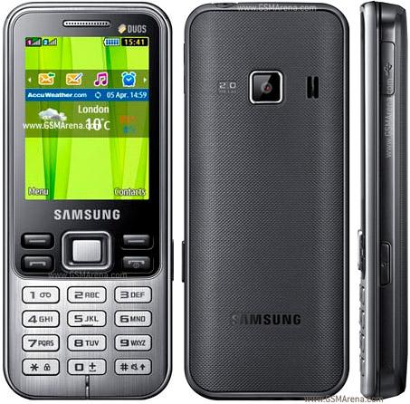 Samsung C3322 DUOS, dual SIM murah kamera 2MP + memori
